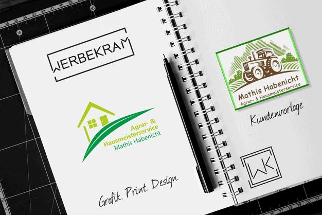 Logo von Argrar- und Hausmeisterservice Mathis Habenicht Werbekram