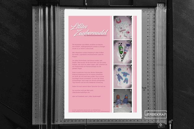 Flyer von Lillies Zaubernadel Werbekram