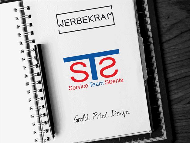 Logo von STS Service Team Strehla Werbekram