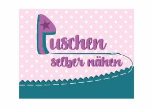 Puschen selber nähen Logo