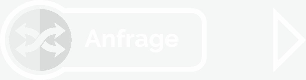 Icon Anfrage Werbekram mit Pfeil